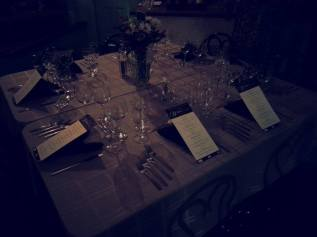 A superb table setting